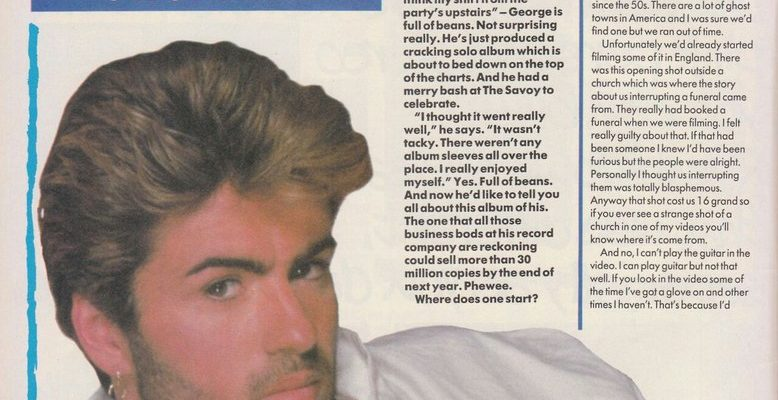Faith: George Michael speaks