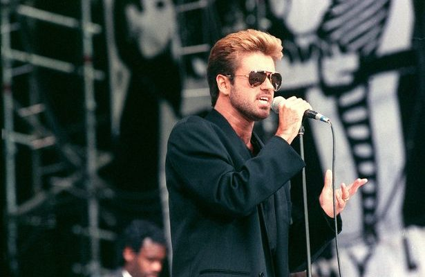 George Michael performance at Nelson Mandela tribute concert
