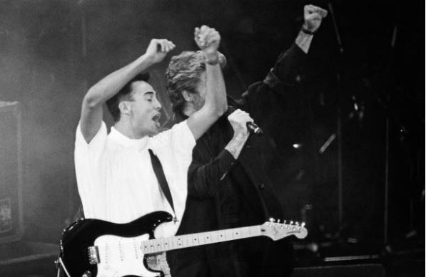 Stand by Me AIDS Benefit concert George Michael and Andrew Ridgeley