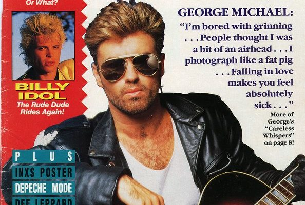 George Michael star hits march1988