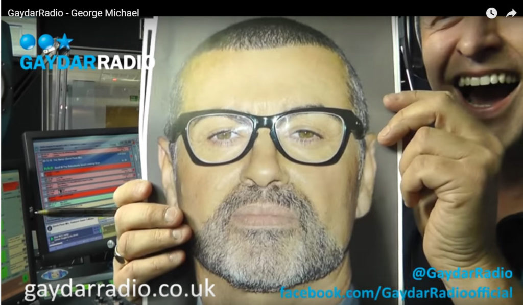 GaydarRadio interview with George Michael