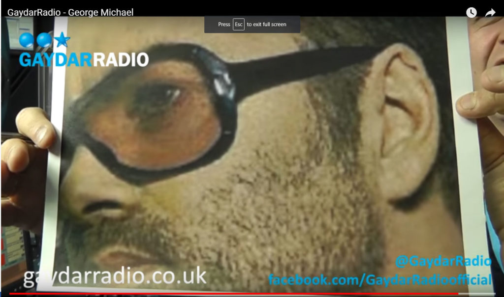 George Michael interview on Gaydar Radio
