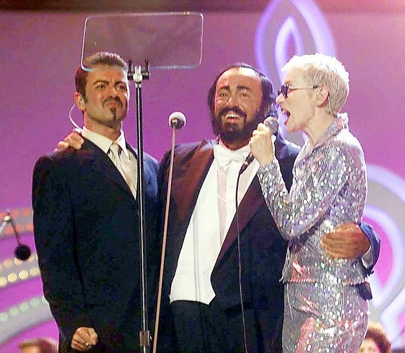 Pavarotti and Friends concert