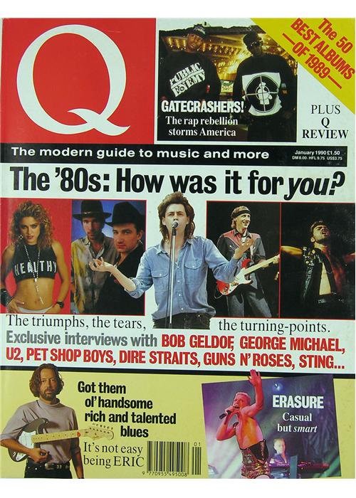 Q Magazine January 1990