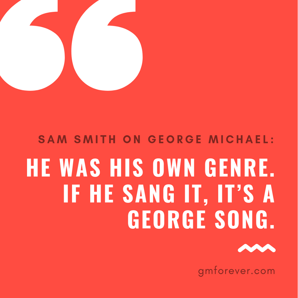 Sam Smith on George Michael