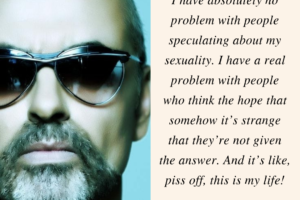 George Michael on sexuality
