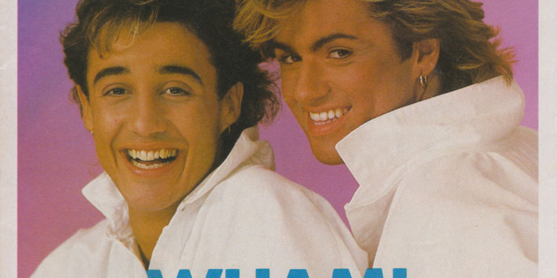 Smash Hits Magazine October 1984 Wham cover