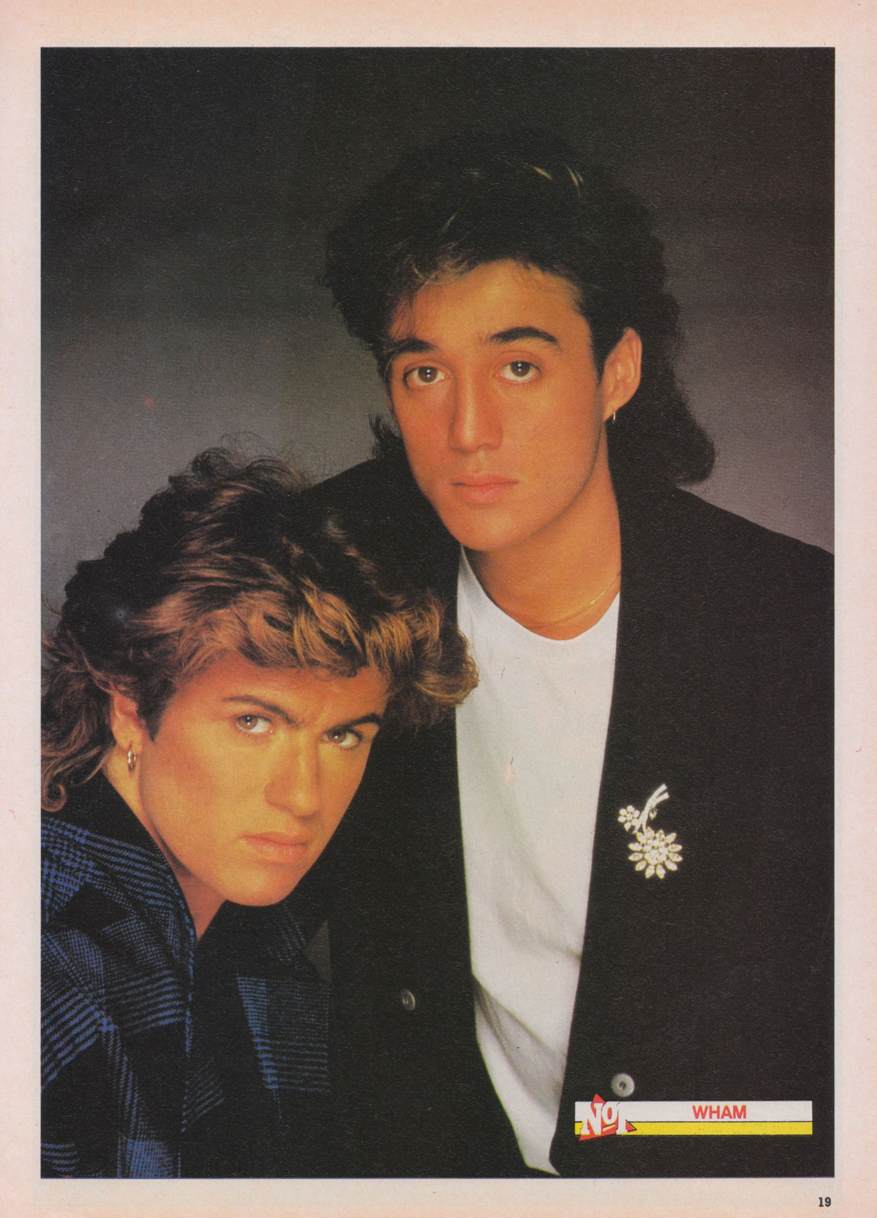 Wham Solid Bond interview, 1985