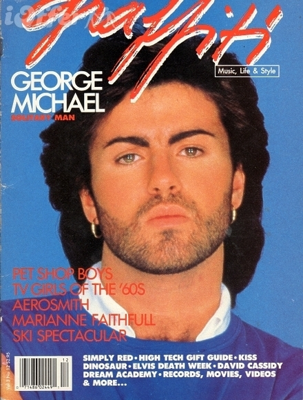 Graffiti Magazine 1987 George Michael