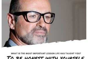George Michael on most important lesson in life