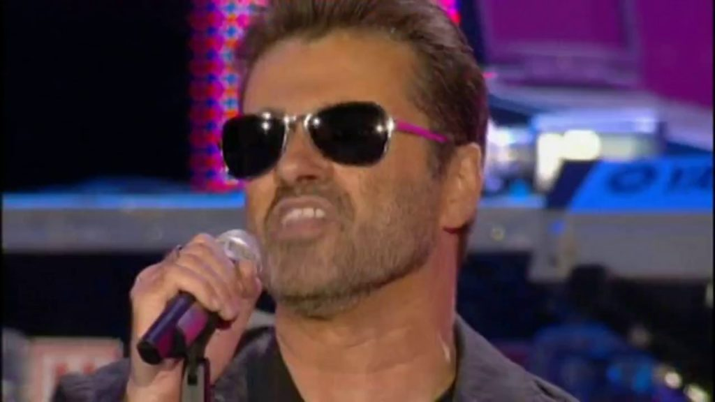 George Michael in Live 8