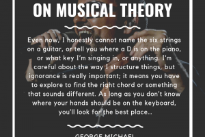 George Michael on musical theory