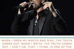 George Michael on Secret of his songwriting