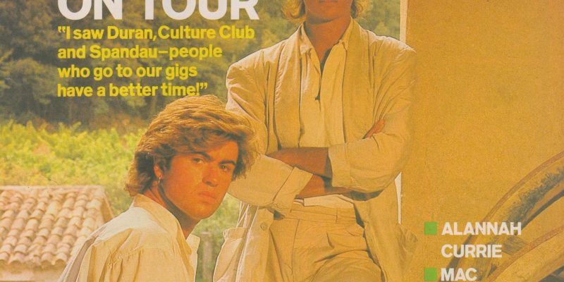 Will George Michael ever appear on stage again? Smash Hits, by Chris Heath, January 3rd-16th, 1985