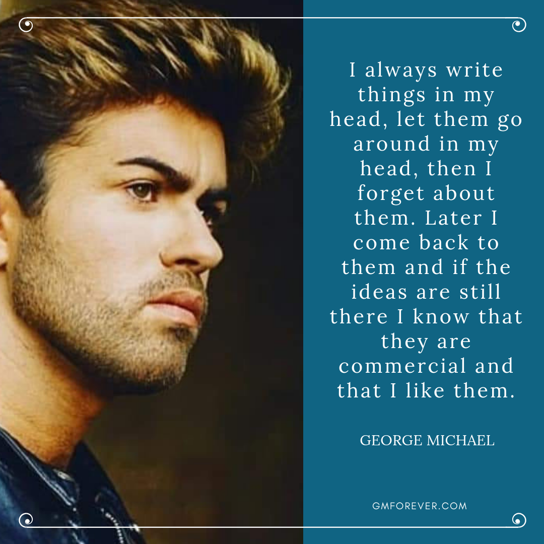 George Michael on His Songwriting (No. 1 Magazine, 1985)