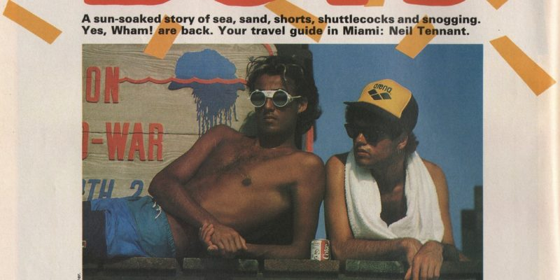 Wham!: The Beach Boys, Smash Hits, 24 May 1984