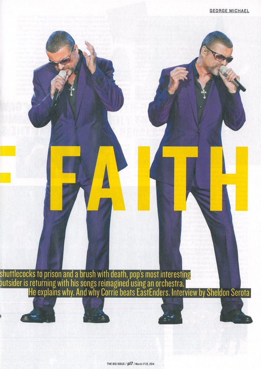 Big Issue George Michael interview
