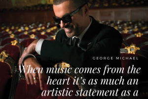 George Michael on music as an artistic statement