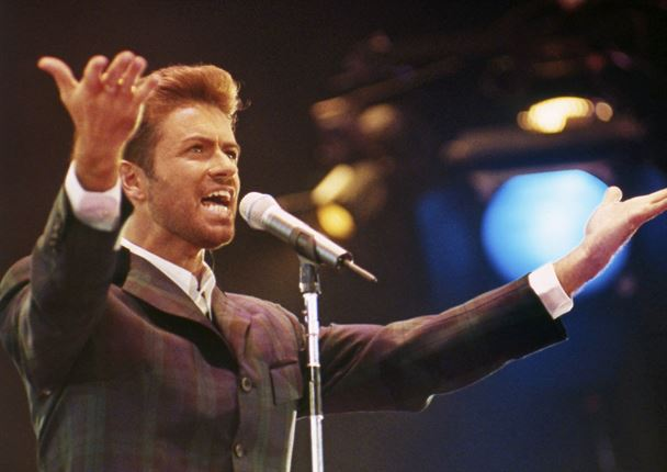 George Michael at the Concert of Hope