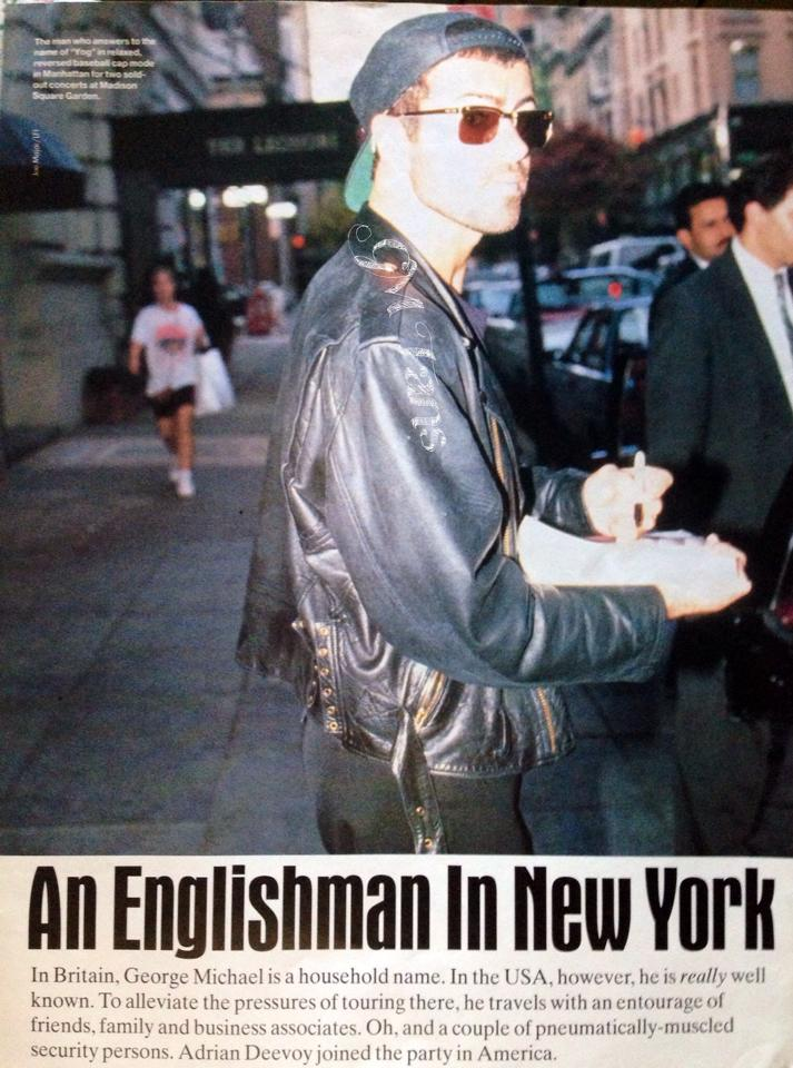 An Englishman in New York, Q Magazine, 1992