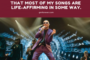 George Michael on How Life Affirming Most of His Songs