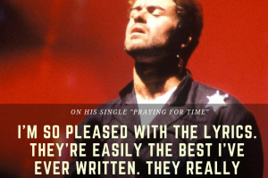 George Michael on Praying for Time