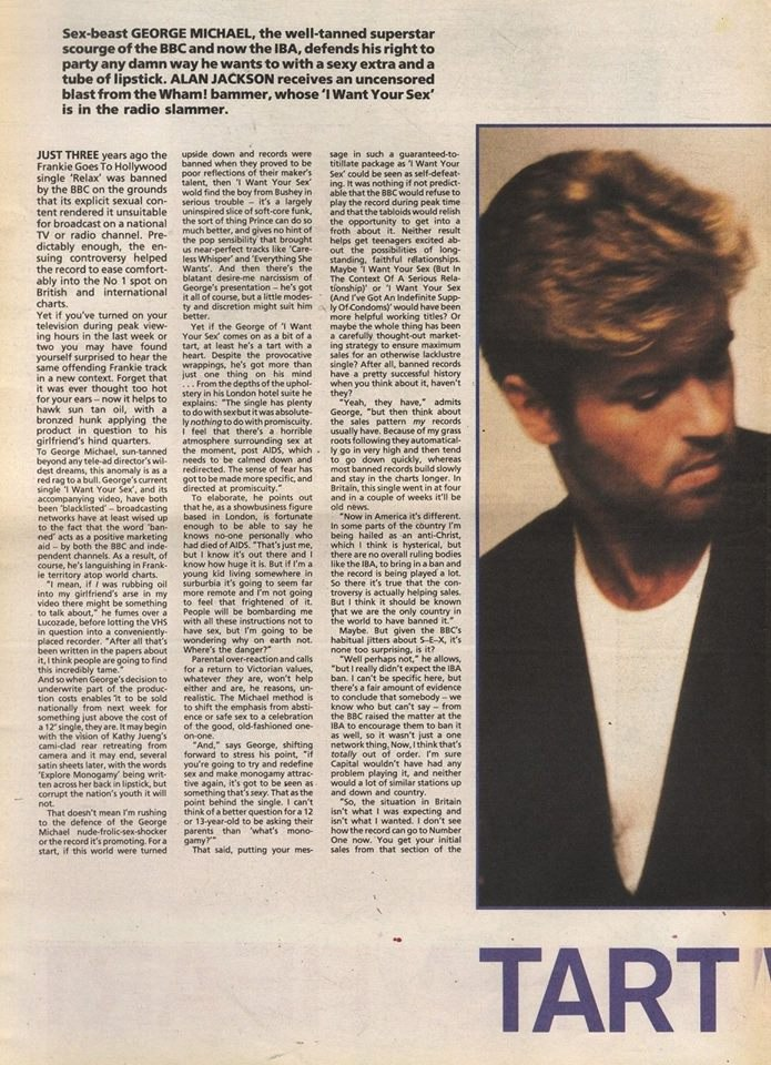 George Michael: Tart with a Heart