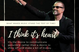 George Michael on what makes music stand the test of time