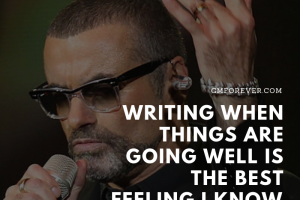 writing and george michael