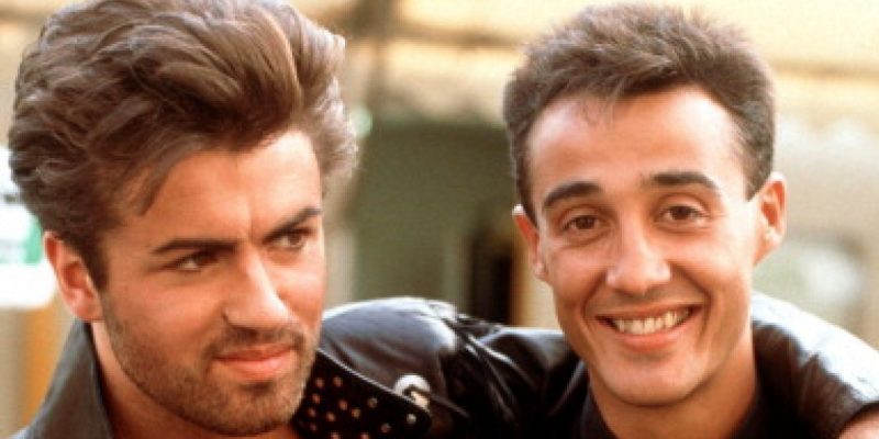 Wham!'s Andrew Ridgeley and George Michael