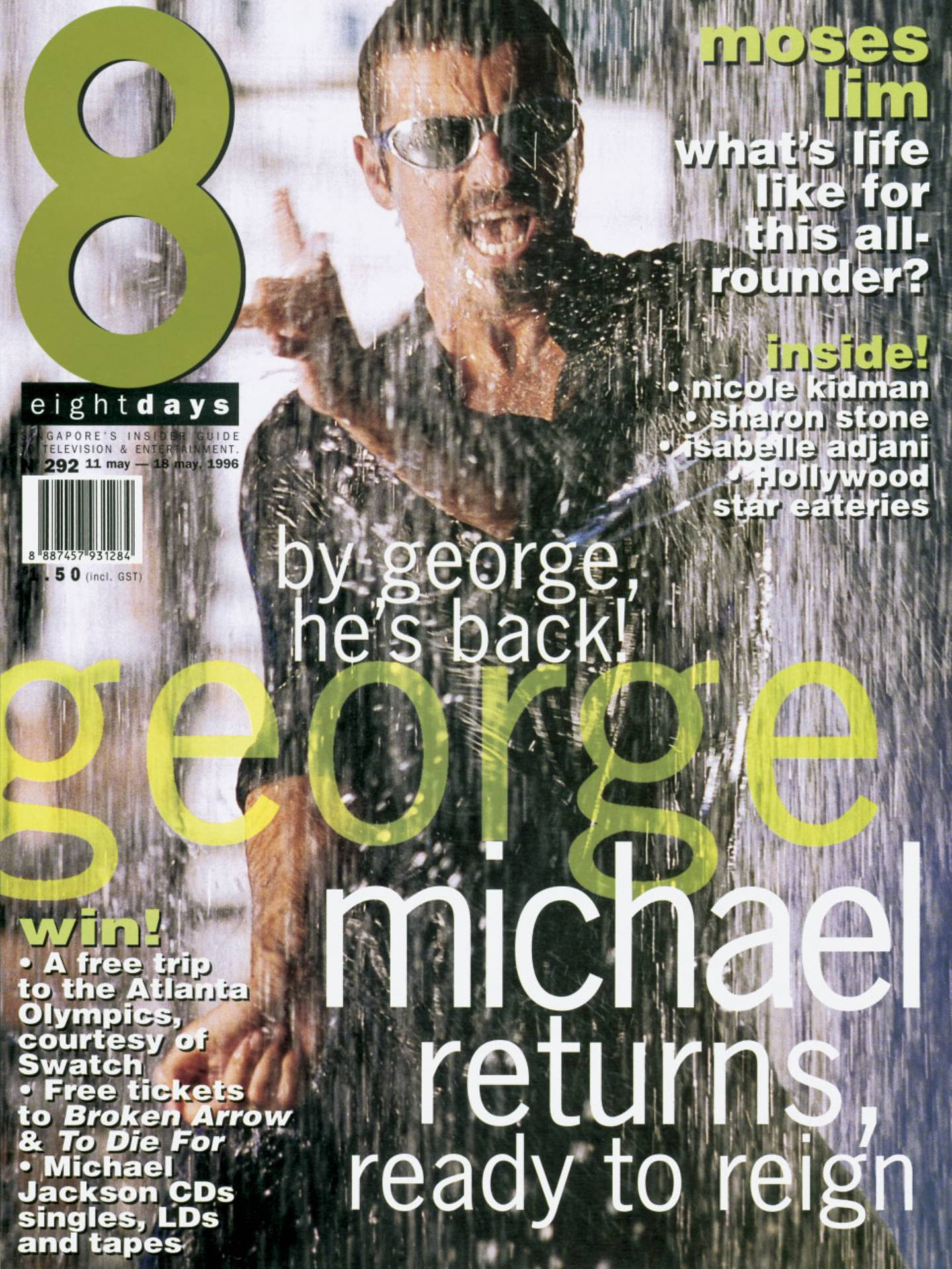 By George, He's Back (8 Days Magazine, 1996)