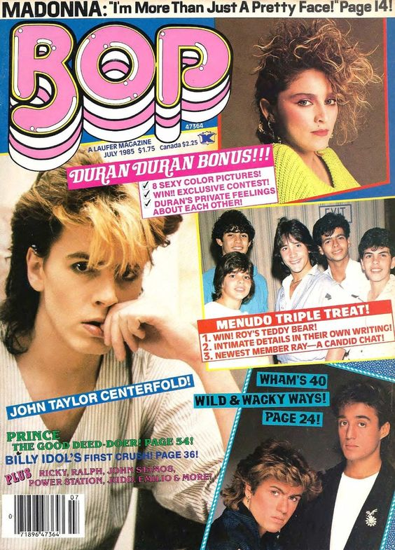 Wham! Interview with BOP Magazine 1985 - 'Freedom Of Speech'
