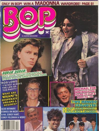 Wham!: We Like Making Young Girls Scream (Bop Magazine, 1985)