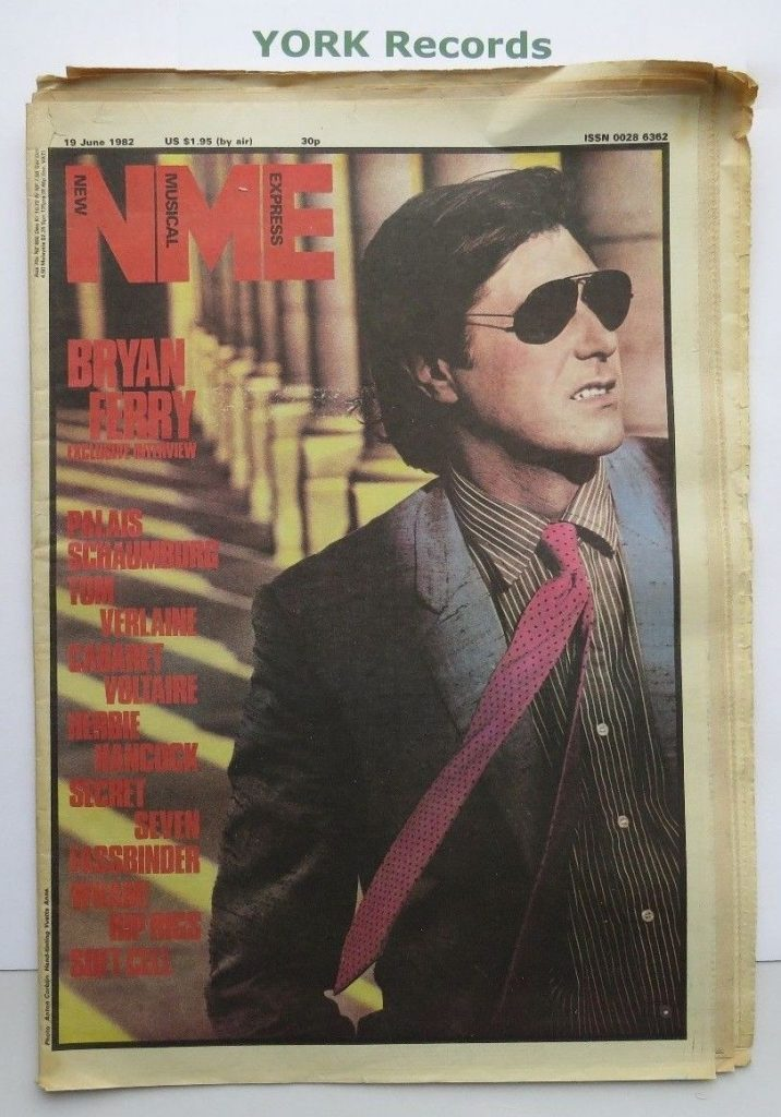Wham! New Musical Express 19th June, 1982
