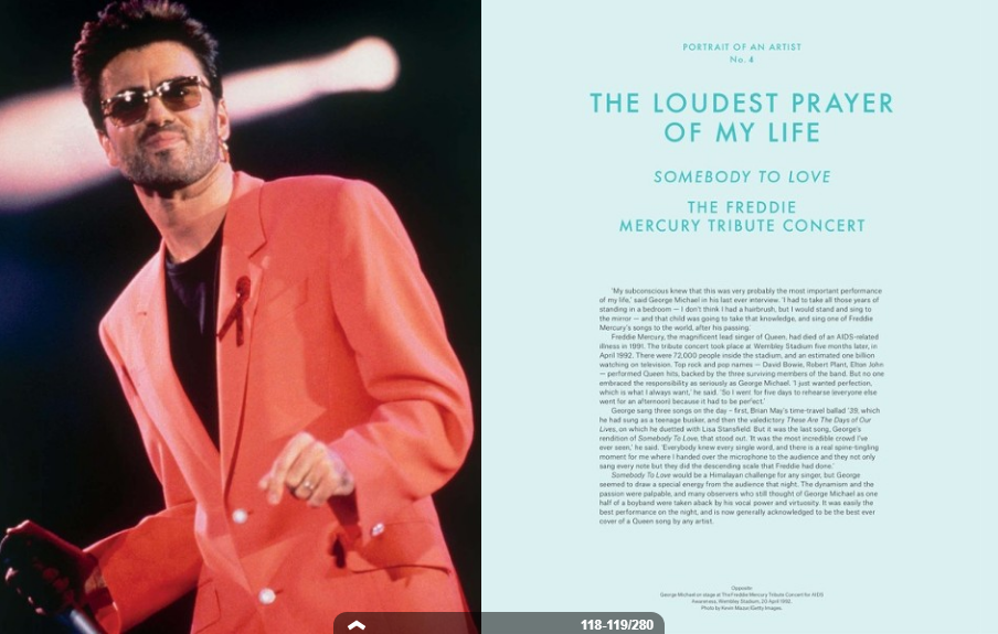 Christie's George Michael Collection Catalogue: The Loudest