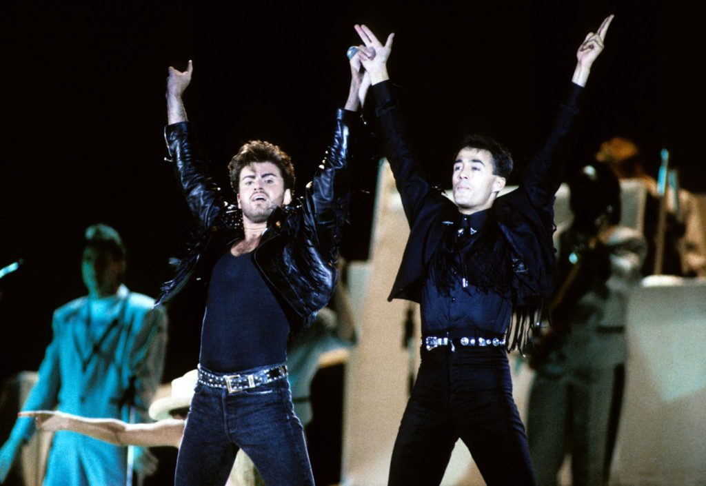 Wham! Farewell Concert, The Final at Wembley Arena