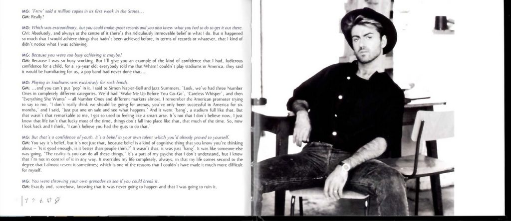 Faith: Looking Back - Mark Goodier Interview with George Michael (2010)