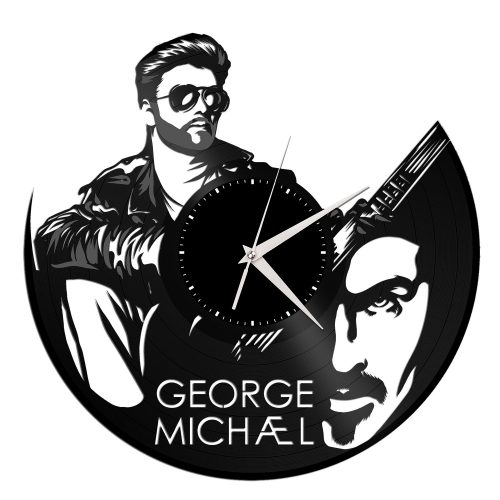 George Michael Vinyl Wall Clock