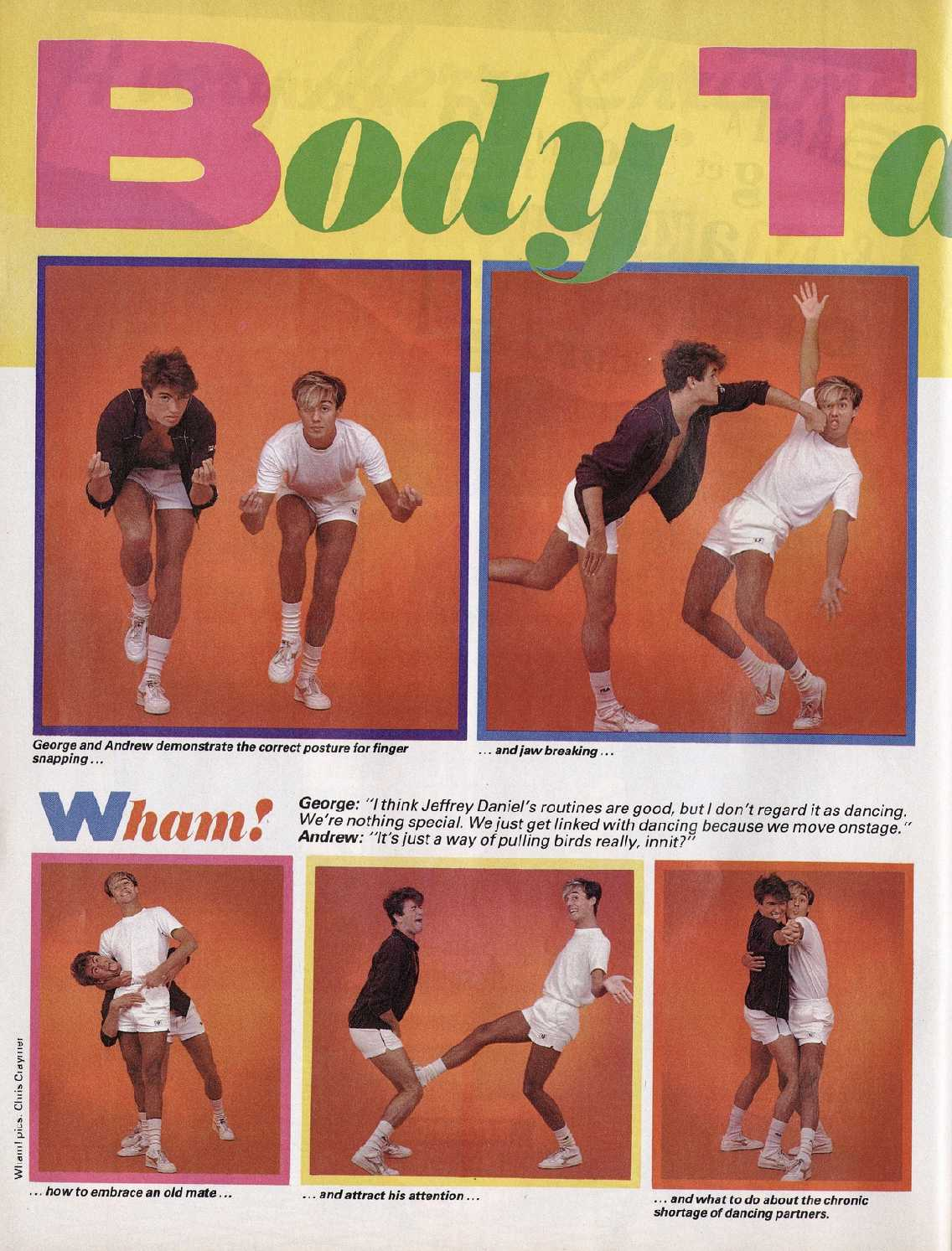 Wham! Body Talk (Smash Hit Woolworths Christmas Special, 1983)