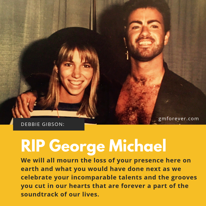 Debbie Gibson on George Michael