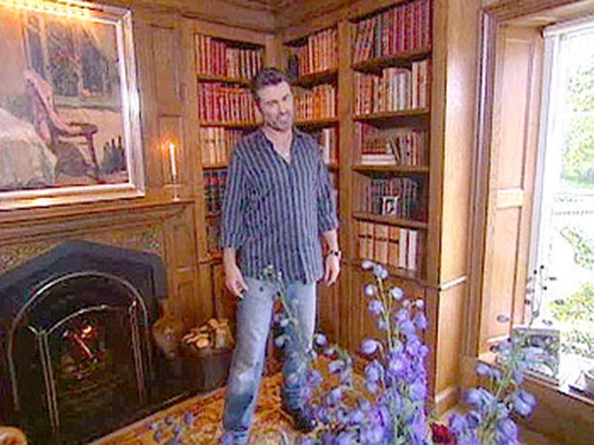 George Michael's Oprah Winfrey Show Interview (2004) - Goring house