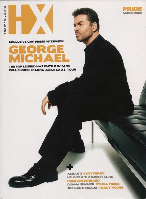 George Michael: Faith Rewarded (HX Magazine, 2008)
