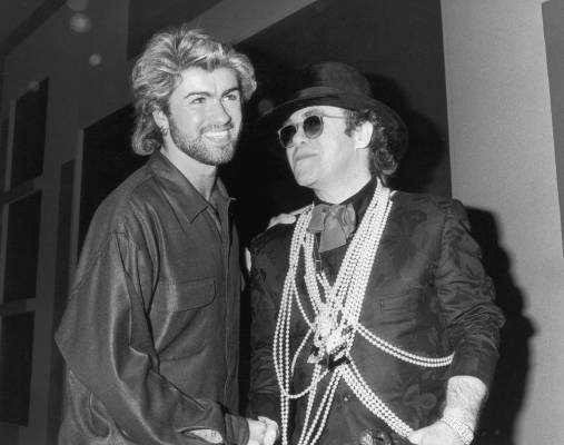 George Michael's Ivor Novello Award Wins with Elton John