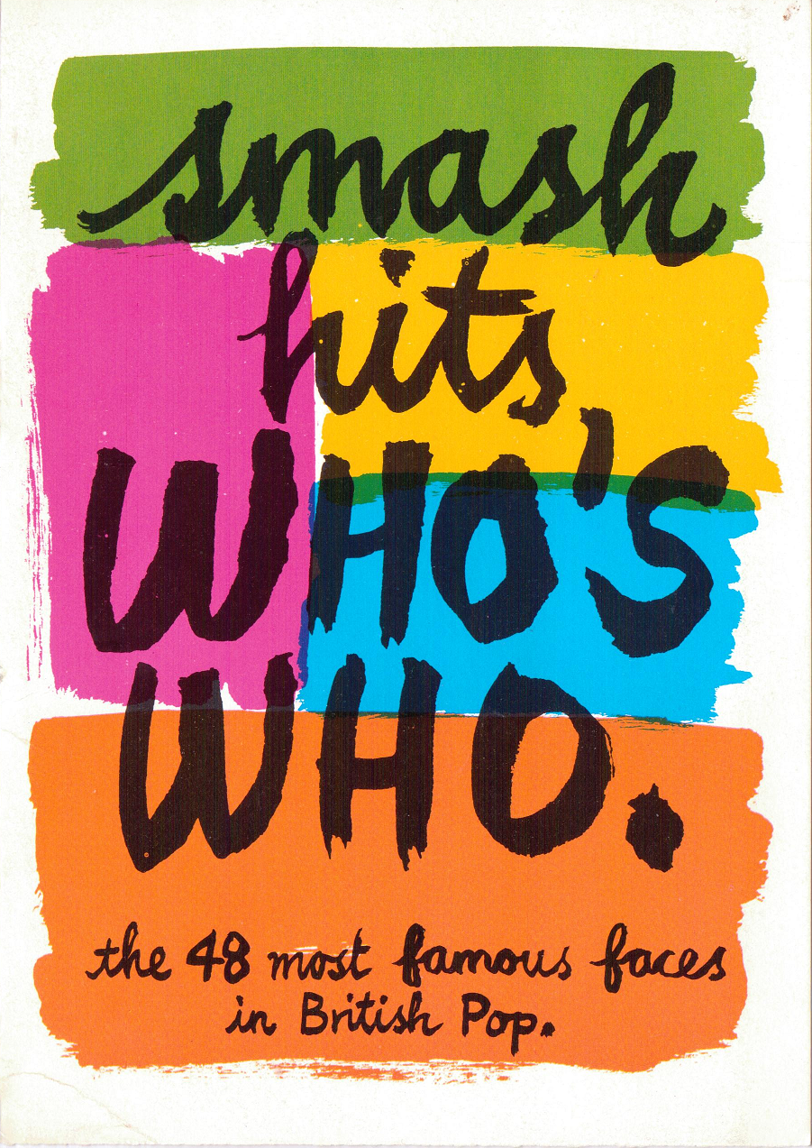 Smash Hits Who's Who: The 48 Most Famous Faces in British Pop