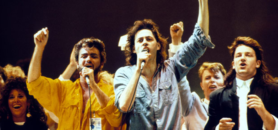 Live Aid at Wembley Arena