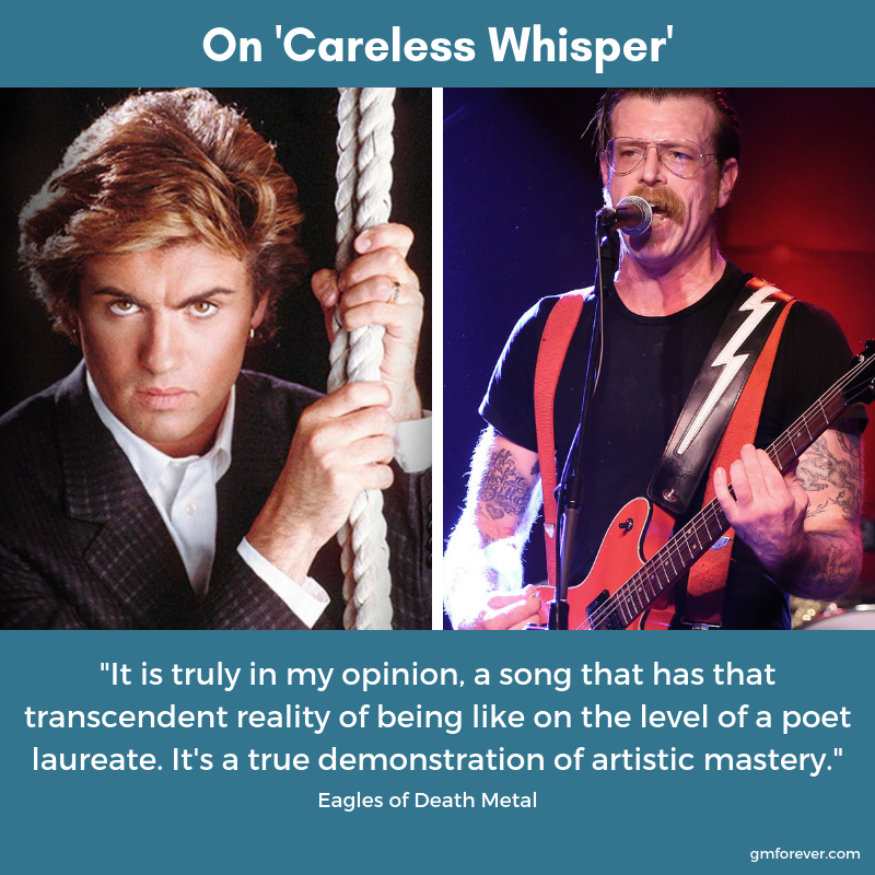 "Eagles of Death Metal on ""Careless Whisper"""