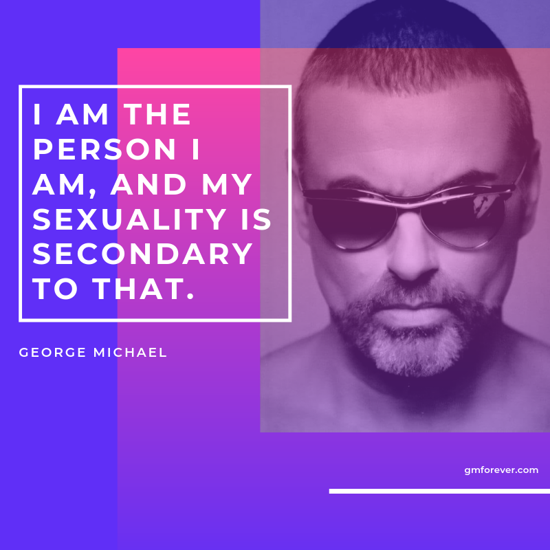 George Michael's Interview with the Gay Magazine 'The Advocate' (1999)