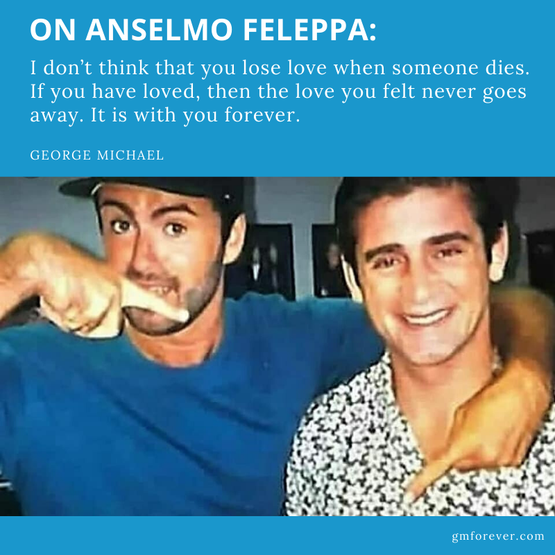 George Michael on his Deep Love and Grief for Anselmo Feleppa (Daily Mirror, 1997)